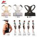Feminino masculino Ajustável Magnetic Posture Corrector Espartilho de Volta Homens Corretor de Postura Cinta de Volta Cinto de Apoio Lombar Em Linha Reta