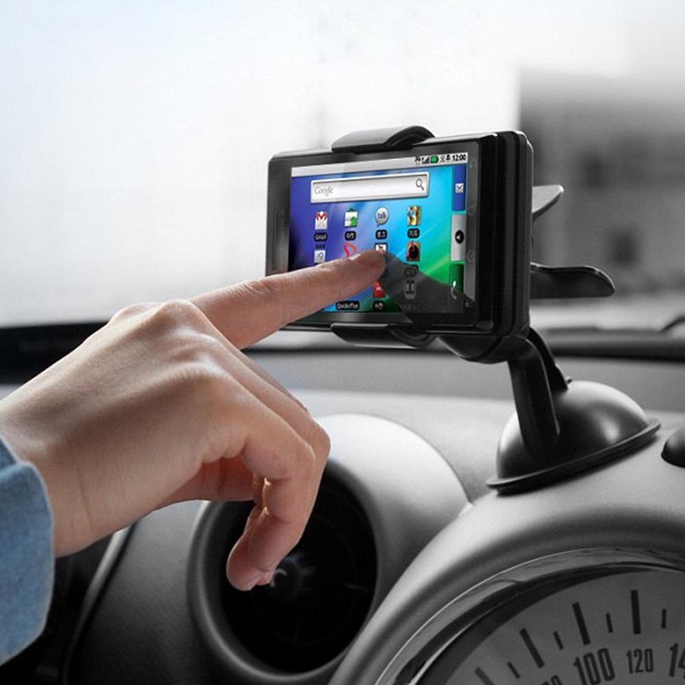 Universaalne autotelefoni GPS-hoidik 360 Pööra reguleeritava - Auto salongi tarvikud - Foto 2