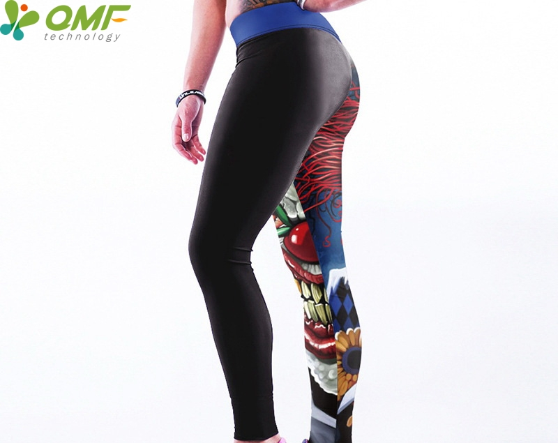 8b099ee71b567 Batman The Joker Fitness Full length Leggings Zombie Evil Queen Running  Tights Black Feather Wings Lady Sport Yoga Pant Dry Fit-in Yoga Pants from  Sports ...