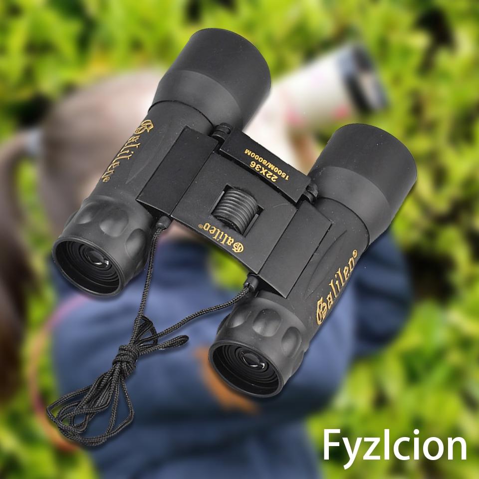 22x36 Folding Roof Prism Hunting Binoculars with Long Range 1500M/8000M Professional Hunting Binocular Wide Angle Vision Hunting