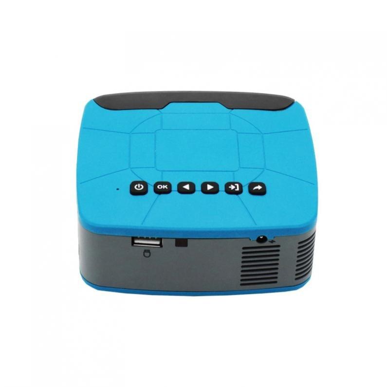 500 Lumen U20 universel 116 pouces Portable Mini projecteur LED pour la maison et le divertissement avec un Design de mise au point courte - 5