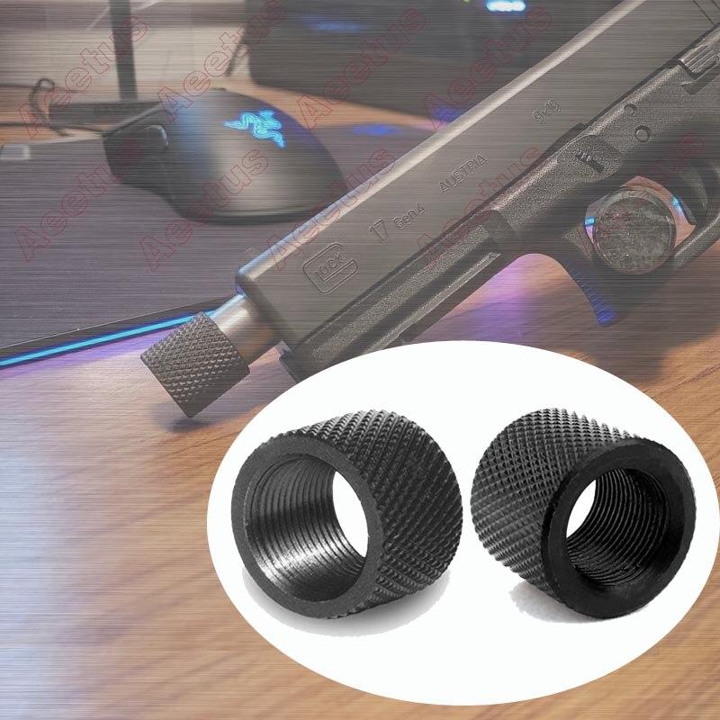 2Pcs Barrel Thread Protector 1/2