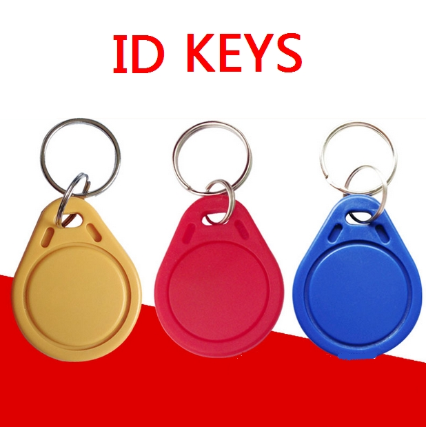 No. 3; 100pcs 125Khz RFID Proximity Keyfobs Ring Access Control Card Rfid Red Yellow Blue Tags степлер мебельный gross 41003