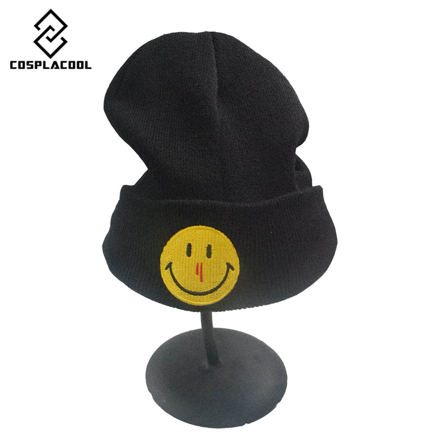 [COSPLACOOL]Beanies Knit Men's Winter Hat Caps Skullies Bonnet Winter Hats For Men Women Beanie Fur Warm Baggy Wool Knitted Hat