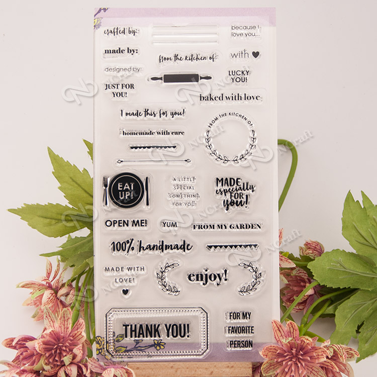 1 Sheet enjoy Transparent Clear Silicone Stamps for DIY Scrapbooking/Card Making/Kids Fun Decoration Supplies Flower  цена и фото
