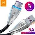 Mcdodo USB Тип Кабеля C 5A супер быстрый Chargin QC4.0 USB C кабеля для передачи данных телефона для samsung S9 huawei Коврики 20 про кабель освещения - фото