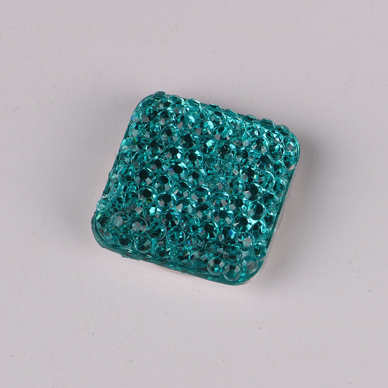 Square Magnet Brooch For Women Exquisite Rhinestone Magnetic Brooches - Fashion Jewelry - Photo 3