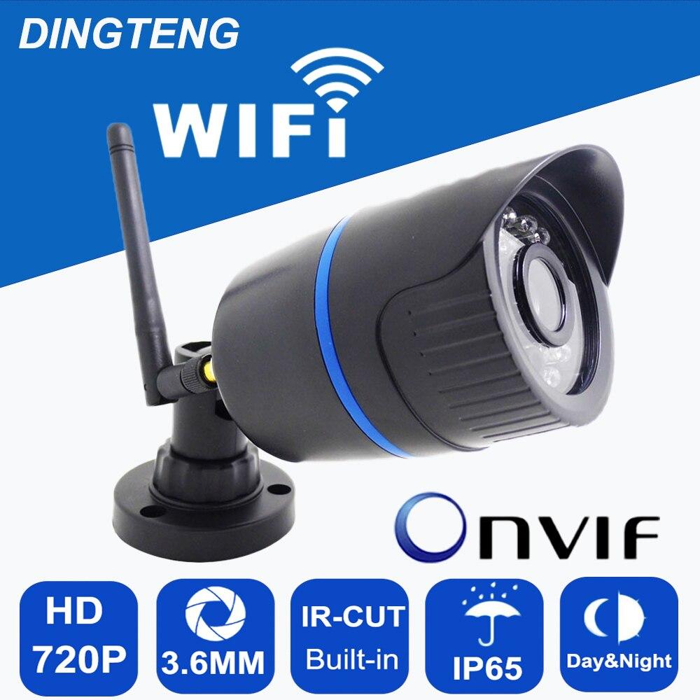 bilder für MINI WIFI Ip-kamera 720 P 1.0MP Kugel Wasserdicht Nacht Im Freien wasserdicht Überwachungskamera ONVIF P2P CCTV Cam mit tf-karte slot