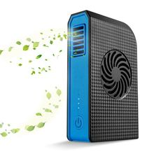 New Hot Small Personal Fan with 6000mAh Power bank Mini Handheld USB Desk Portable Charger Best using in Travel Schoo
