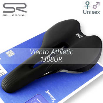SELLE ROYAL Viento Saddle for Bicycle Ventilation Mountain & Road Bike Saddle Man/woman Special Silicone Filled Cyclist Seat