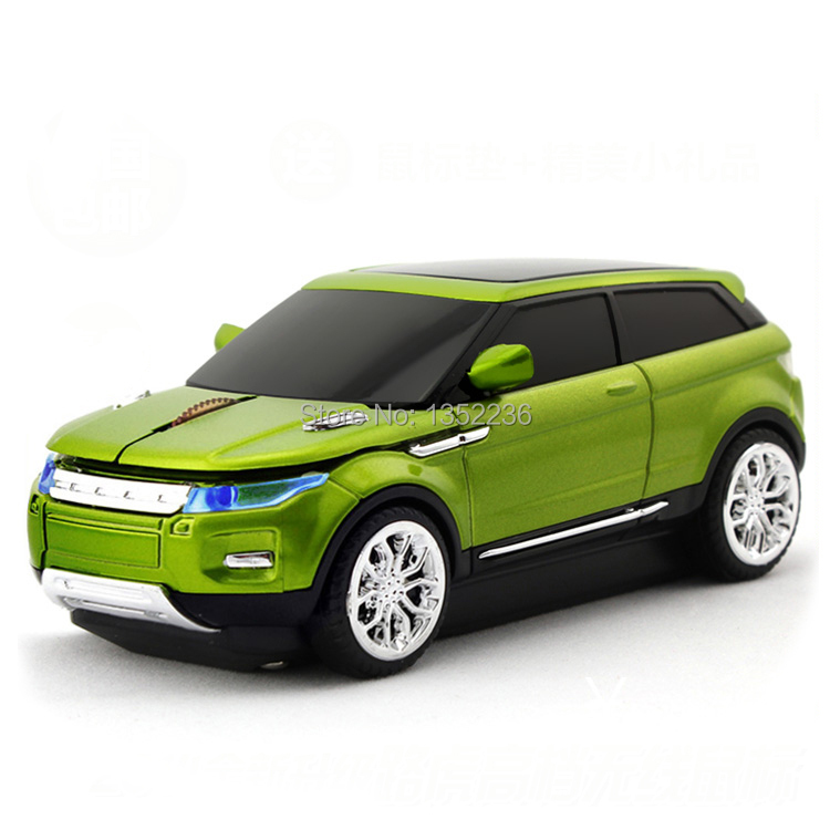 Freeshipping 2015 New Land Evoque Rover Car Wireless Mouse