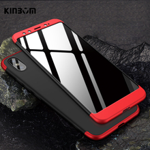 kinbom 3-in-1 matte hard case for xiaomi 5S 5X 6 6X 5PLUS full protective 8 9 SE 8LITE phone cover