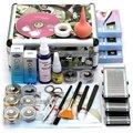 Profissional Cílios Extensão Dos Cílios Maquiagem Cosméticos Set Kit com Caso Salon Ferramenta Presente