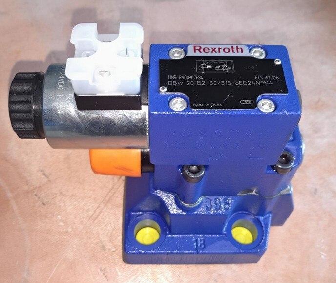 Rexroth series pilot operated compound relief valve DBW20B2-5X/315-6EG24N9K4 hydraulic valve