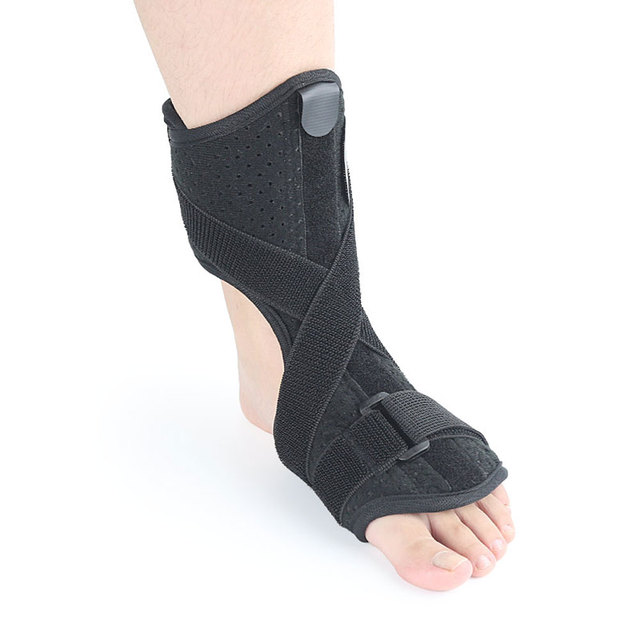 80f337ab0fa 1Pair Plantar Fasciitis Night & Day Splint Foot Orthosis Stabilizer  Adjustable Drop Foot Orthotic Brace Support Pain Relief