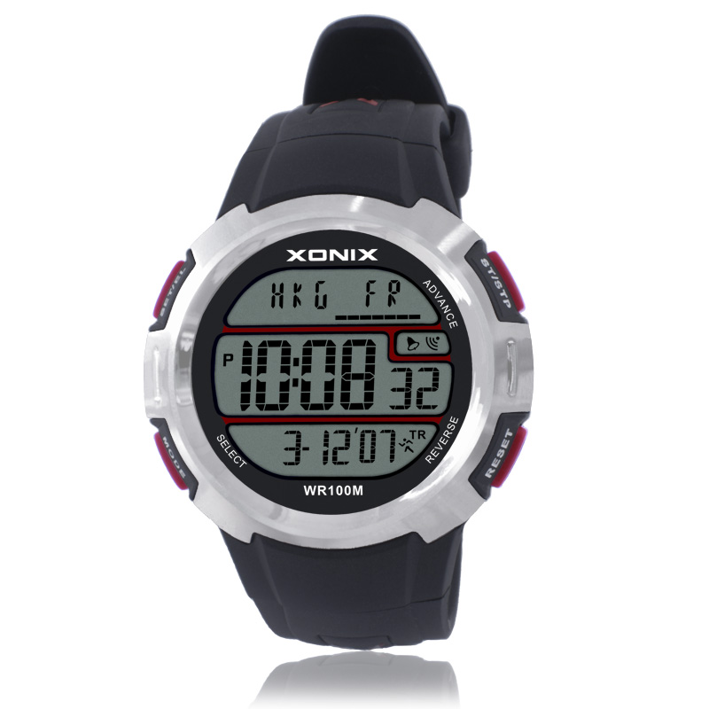 TOP World Time Men Sports Watches Waterproof 100m Digital Watch Running Swimming Diving Wristwatch Hand Clock Montre Homme 2017 top brand shockproof waterproof diving watch men sport swim watches 100m water resistant for dive wristwatch swimming