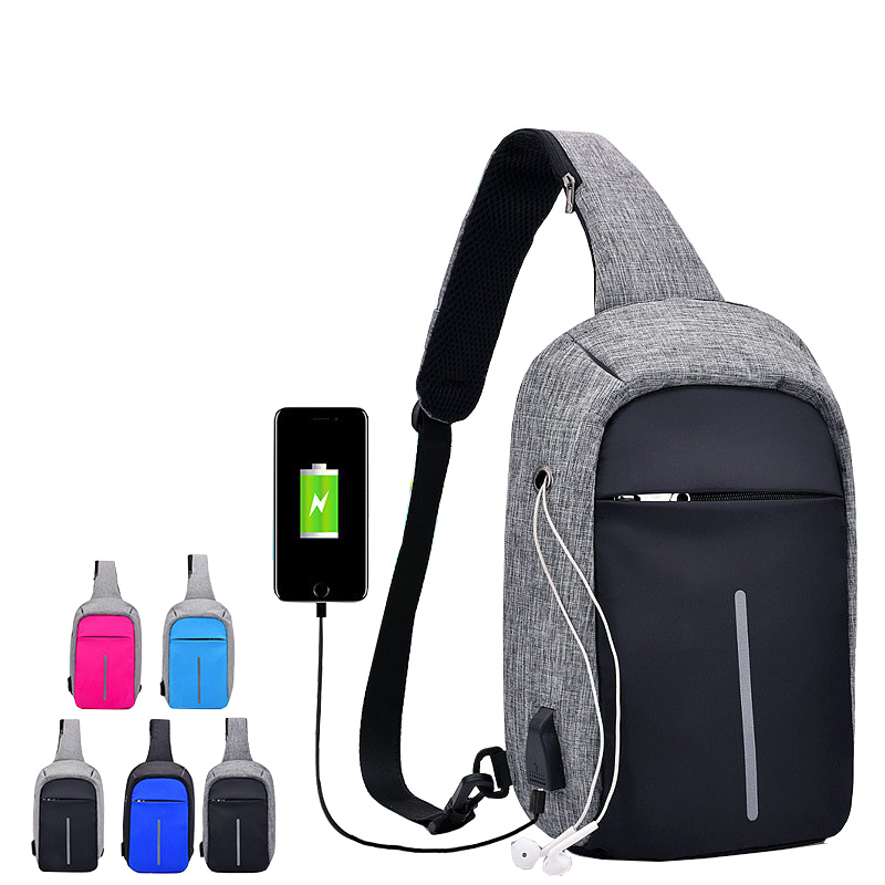 Outdoor New Arrival Crossbody Bags Sport Men Anti-theft Chest Pack Summer Trip Messengers Bag Male Water Repellent Shoulder Bag ...