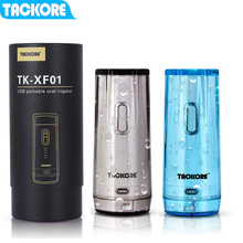 Tackore  Oral Irrigator USB Rechargeable Water Flosser Portable Dental Water Jet 210ML Teeth Cleaner  IPX7 Irrigator nicefeel fc188g electric oral irrigator dental flosser water jet oral care teeth irrigator series oral irrigator teeth cleaner