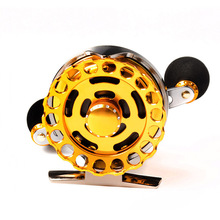 Ball Bearing Metal Diecast 7BB Fly Fish Reel Former Rafting Fish Line Reel Ice Fishing Wheel Left/Right Changeable Raft Ratio