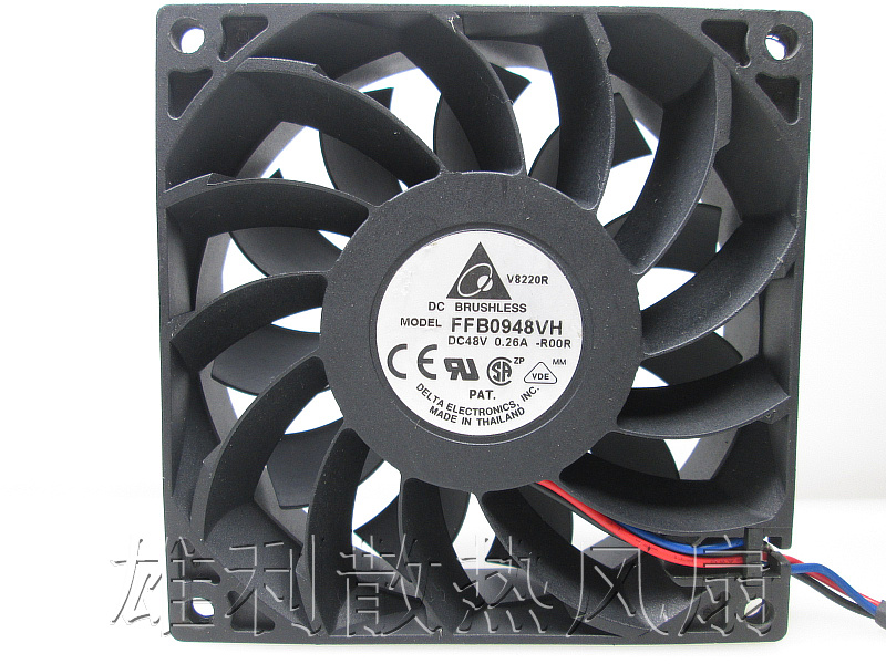 Free Delivery.9225 48V 0.26A High Volume Fan FFB0948VH-R00 3-Wire Alarm Fan free delivery pmd1207ptv1 a 7025 magnetic levitation maintenance free bearing large air volume 7cm fan 70x70x25mm