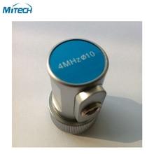 4 мГц 10 мм Прямо пробного луча датчика ультразвуковой дефектоскоп метр