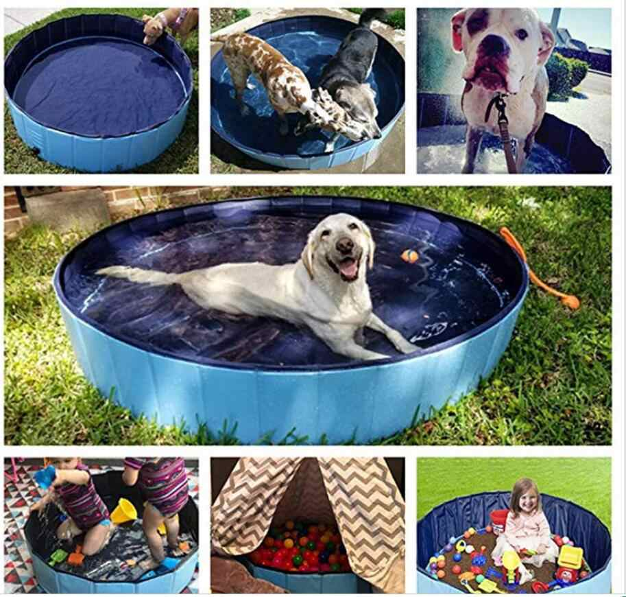 Foldable Pool Dog Pet Swimming Pool For Dog Big Size Collapsible 4 Seasons Pet Playing Washing Pond For Cat Large Dog Summer Aliexpress