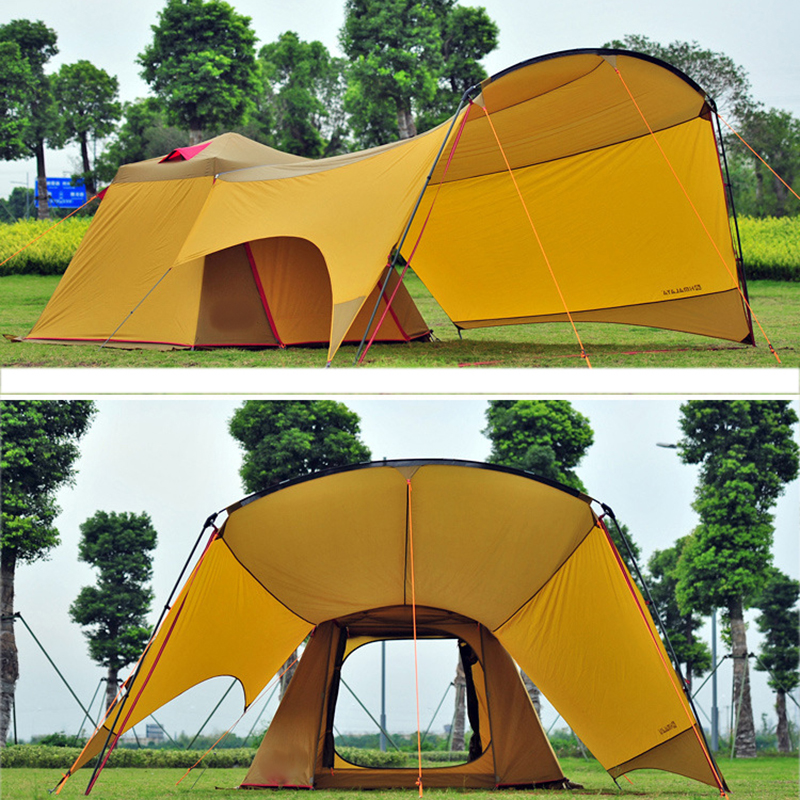 Large Outdoor C&ing Tent Wild Equipment 4 Season 3 4Person Family Cabin Tent Barraca ZS7251-in Tents from Sports u0026 Entertainment on Aliexpress.com ... & Large Outdoor Camping Tent Wild Equipment 4 Season 3 4Person ...