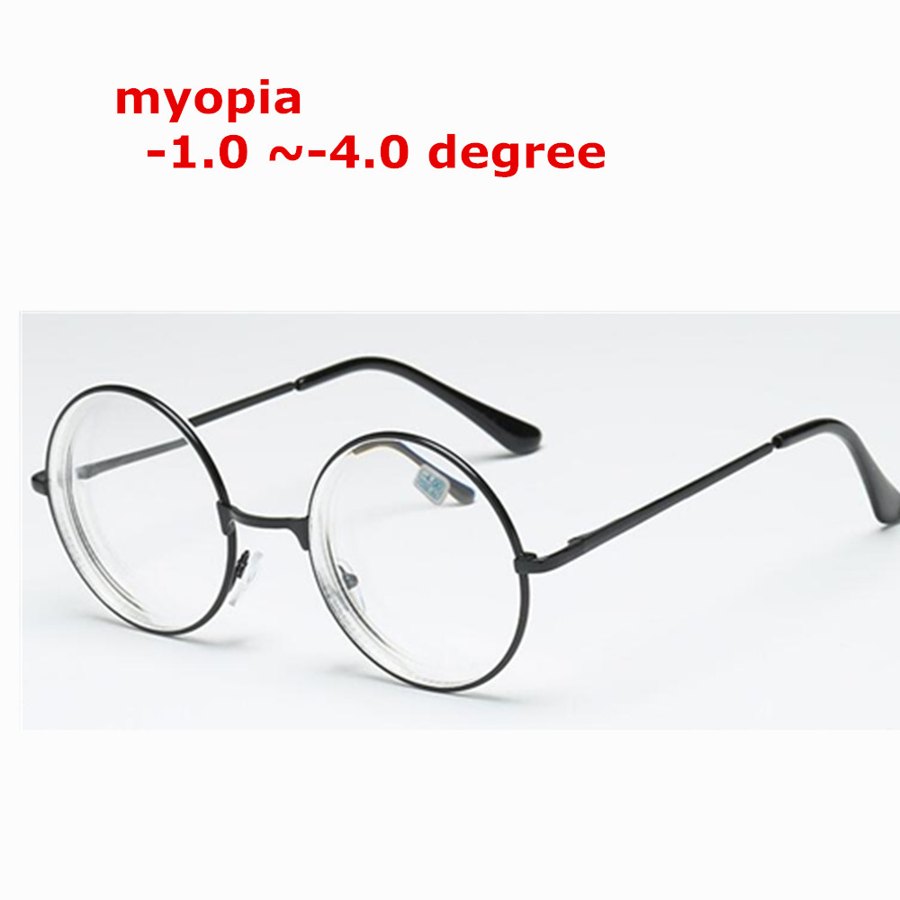 -1-1,5-2-2,5-3-3,5-4. 0 Neue Fertig Myopie Gläser Für Frauen Und Männer Kupfer Rahmen Ultraleicht Studenten Myopie Gläser Perfekte Verarbeitung