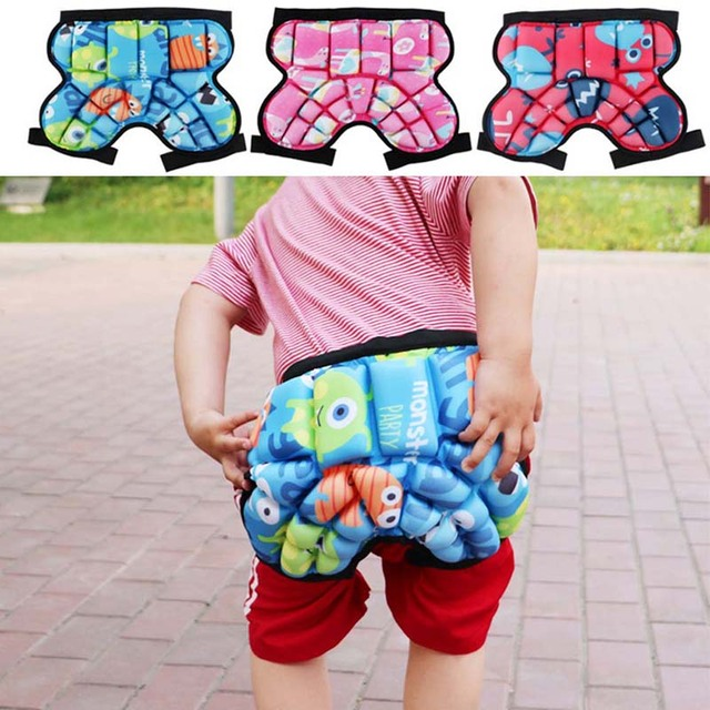 Children Skiing Hips Protector Pad Kids Outdoor Sports Skating Snowboarding Shorts Hip Protective Bottom Padded Safety Equipment