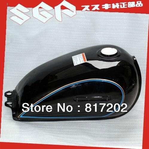 NEW OEM QUALITY GN250 GN250 FUEL ( PETROL GAS ) TANK, BLACK color with LETTER Emblem  цены