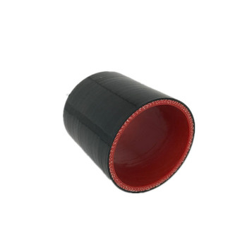 Универсальный 4-слойный 51 мм/57 мм/60 мм/63 мм/70 мм/76 мм Прямой силиконовый шланг интеркулер турбо муфта трубка впускной трубы черный