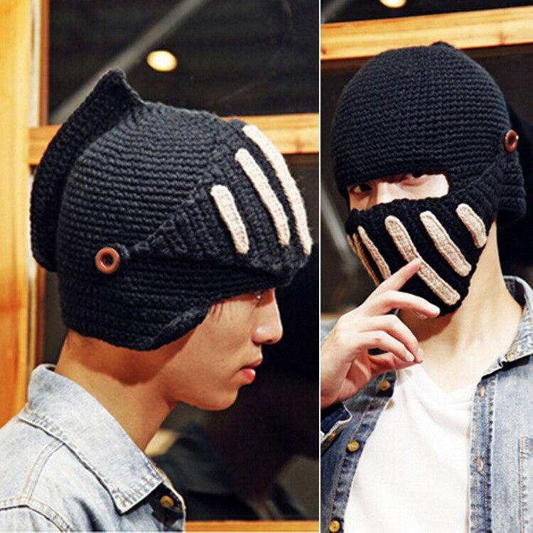 Nouvelle Hiver Bonnets Solide Couleur Chapeau Unisexe Chaud Doux Bonnet  Tricoté Cap Chapeaux Cavalier chapeau Masques cap Pour Hommes et Femmes  QSM02 5f1c68fae38