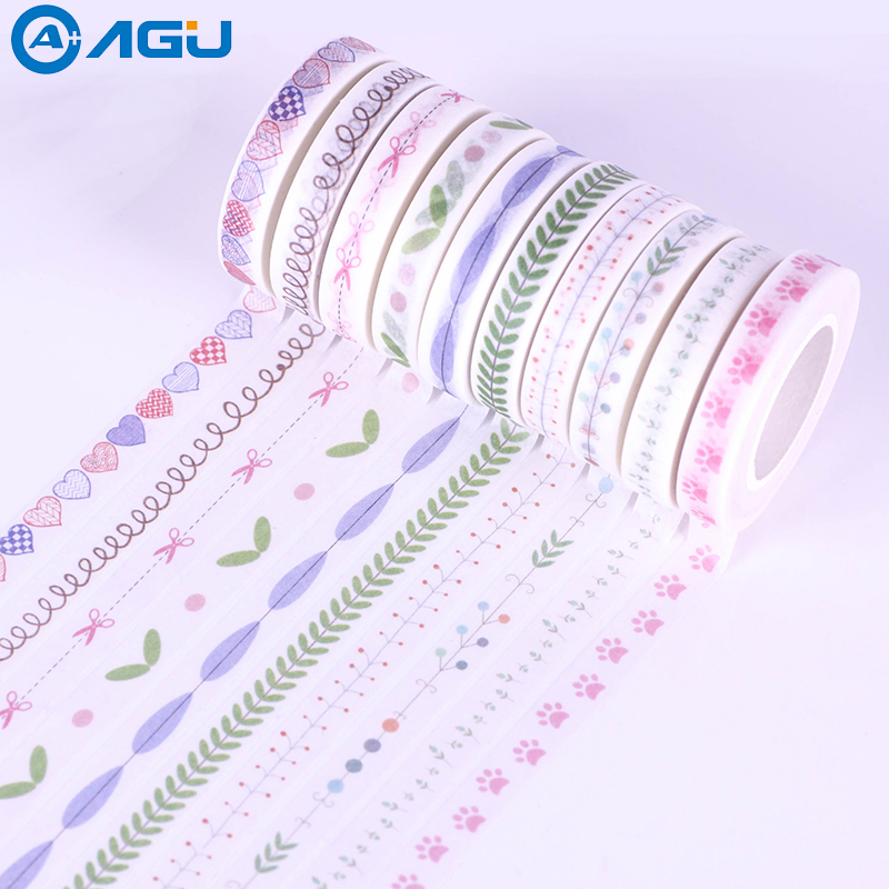 2017 New arrival 8mmx10m fresh style japanese washi tape for decoration от Aliexpress INT