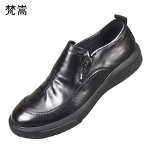 Business Suit Mens Genuine Leather Shoes men designer shoes high quality  all-match cowhide Lace-Up Dress spring