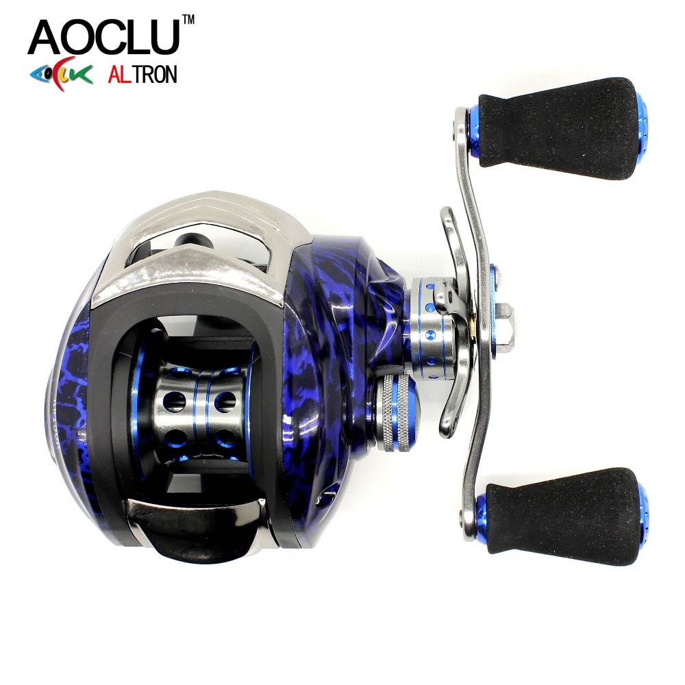AOCLU super smooth Baitcasting Reel 8 1 stainless steel ball bearings Max Drag Power to 8KG
