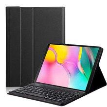 Mosunx coque avec clavier Bluetooth sans fil, étui pour Samsung Galaxy Tab A 10.1, 2019, SM T510, T515, 517 #3
