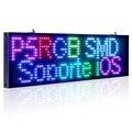 34 cm P5 Smd RGB Wi-fi LEVOU assinar interior Placa de Exposição Sinal Programável Rolagem Loja Aberta-Negócio de Grau Industrial ferramentas