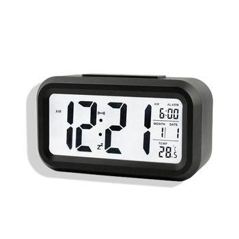 Digital Desk Clocks Calendar Thermometer Large LCD Table Clocks Multi-functional