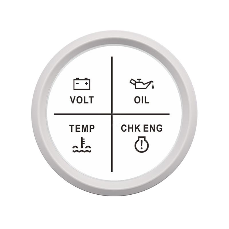 and sensor PLUS Low Oil Pressure alarm ENGINE GUARD EG01//3 Overheating alarm