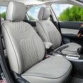 Tampas de assento assento de carro personalizado capa para Peugeot 307cc acessórios auto peças parte dianteira & parte traseira almofadas de assento tampa do couro do PLUTÔNIO suporta
