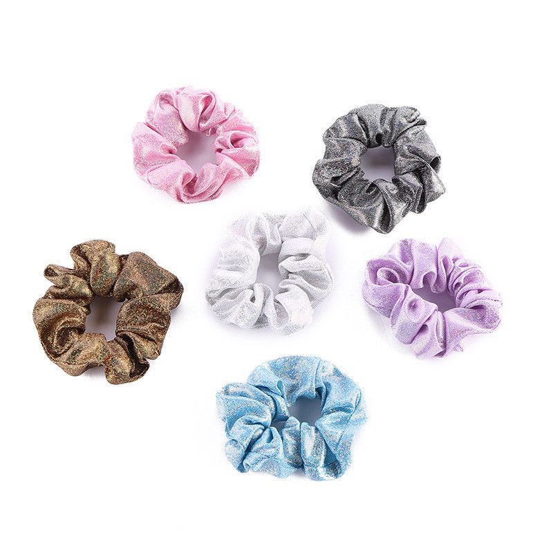 Free shipping Fashion women pretty starry element Hair bands shining hair scrunchies girl's hair Tie Accessories Ponytail Holder
