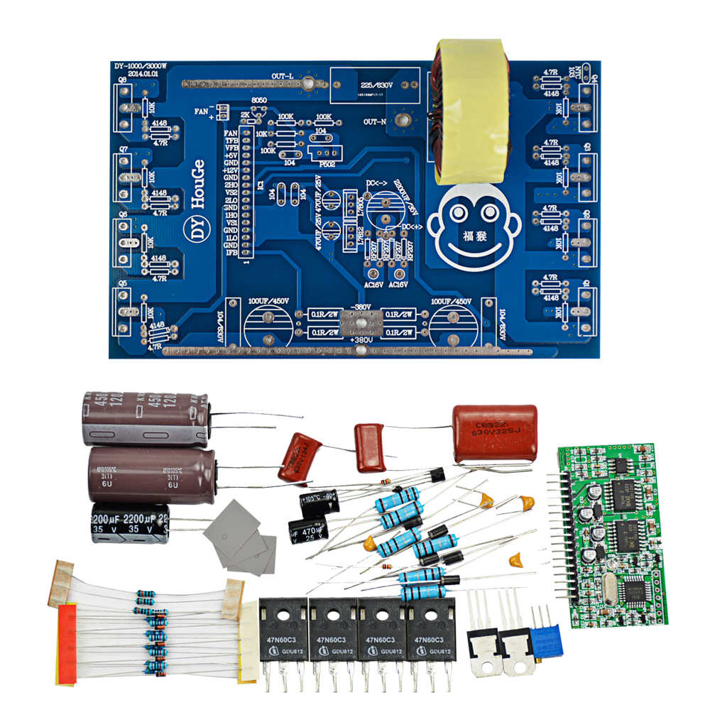 Detail Feedback Questions About Aiyima Updates 2000w Pure Sine Wave Inverter Circuit Power Transistor Stage Board Post Amplifier Diy Kits