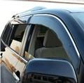 Plástico / Orignal Design da capa de chuva / janela viseira para Toyota Highlander / Kluger 09 - 13