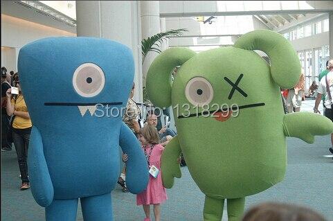 Mascotte moche poupée mascotte costume fantaisie personnalisé fantaisie costume cosplay thème mascotte carnaval costume