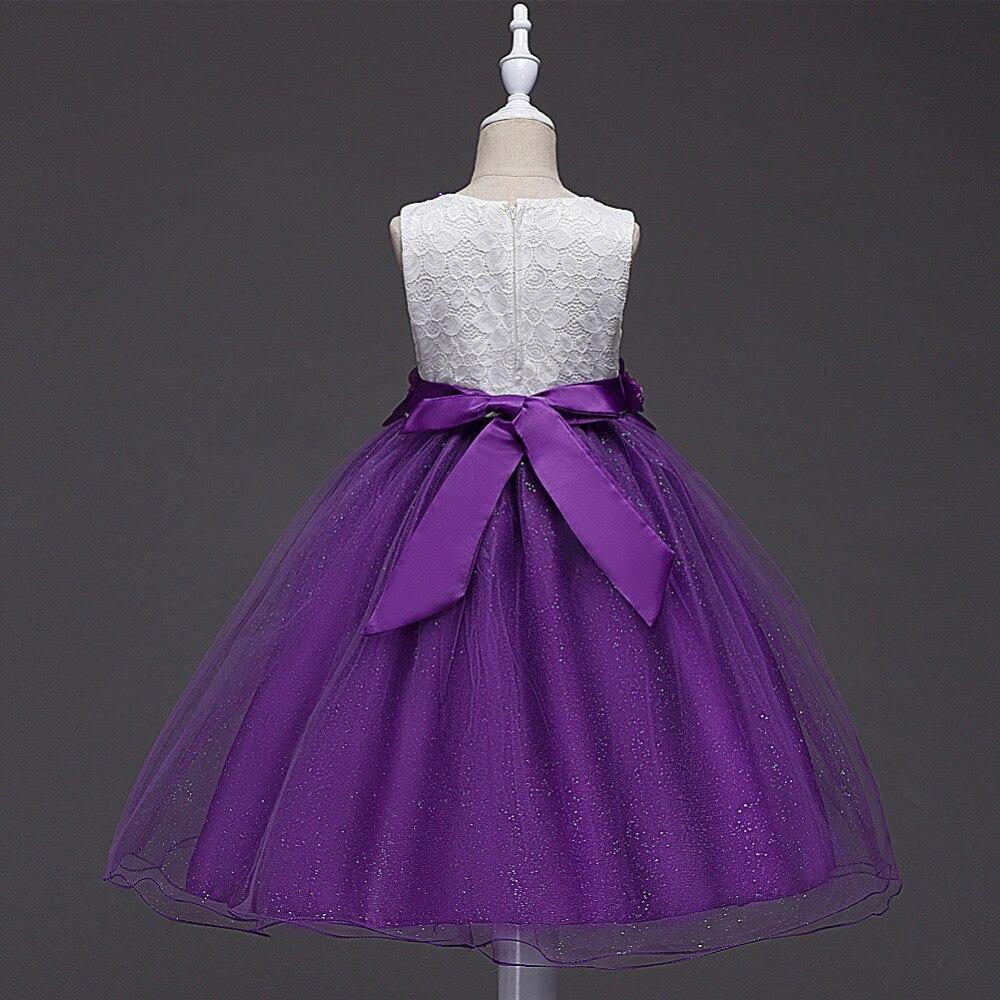 Vestido de la muchacha de flor del verano vestidos niños vestidos ...