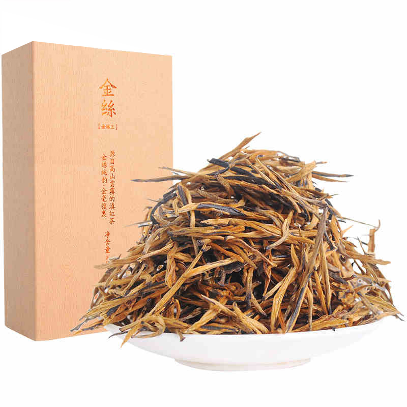 200g 2018 Yr Special Grade Yunnan Lincang Feng Qing Gold King Honey Flavor Dianhong Tea Kung Fu Black Tea Red Tea Spring