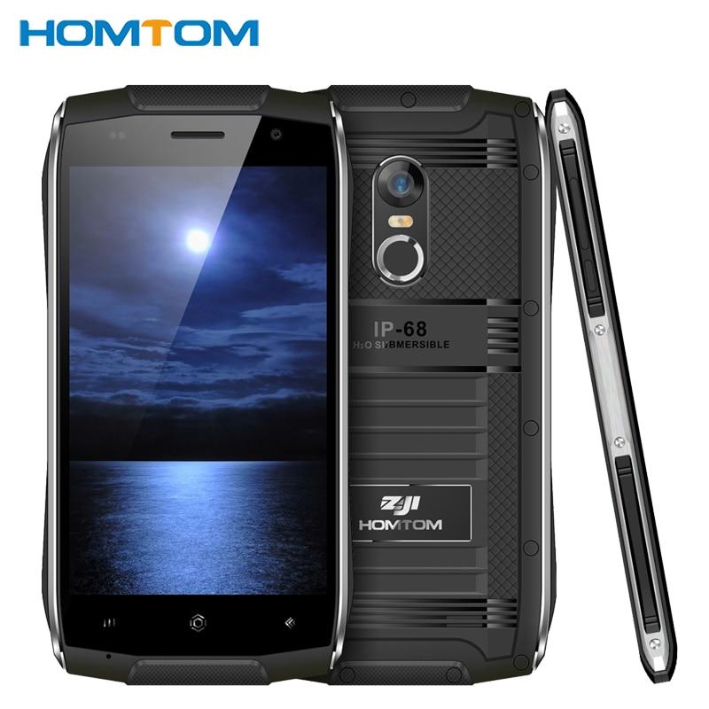 Original HOMTOM ZOJI Z6 IP68 Waterproof Cell Phone 4 7inch 1GB RAM 8GB ROM MTK6580 Quad