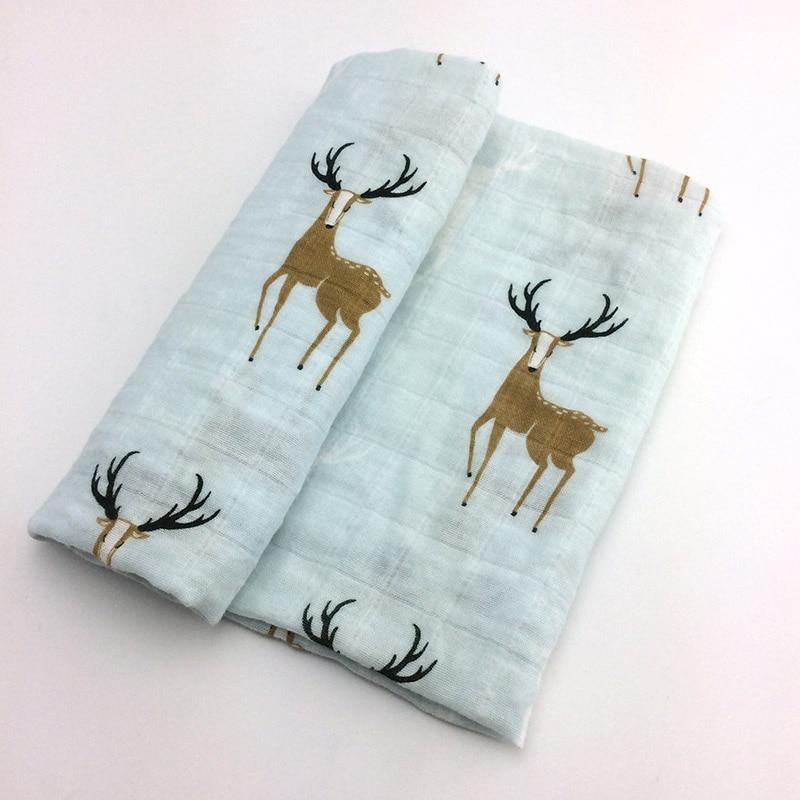 Новинка; хлопковое детское одеяло для новорожденных; мягкое детское одеяло из органического хлопка; муслиновое Пеленальное Одеяло для кормления; тканевое полотенце; шарф; детские вещи - Цвет: 12