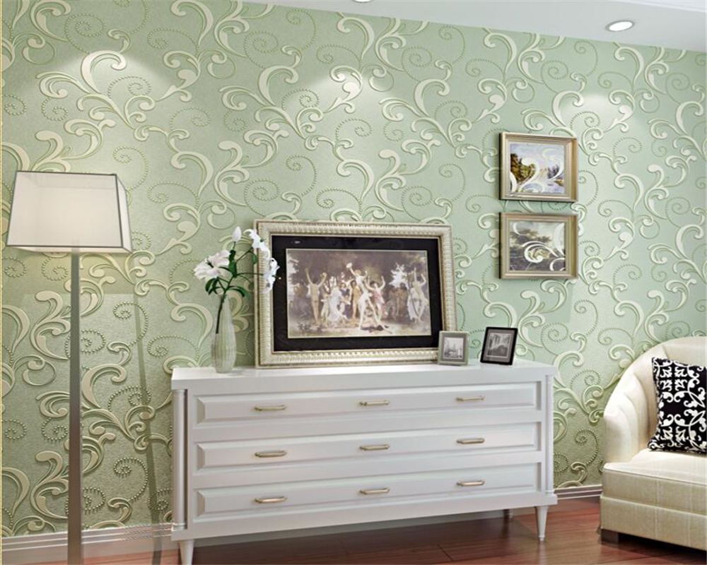 Beibehang High quality wall 3d walled wallpaper embossed 3d wall paper bedroom living room TV background wallpaper for walls 3 d beibehang american retro wallpaper roll desktop living room 3d wall paper home decor tv background green wallpaper for walls 3 d