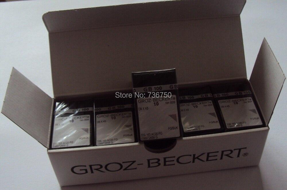 100% originale Groz Beckert ago da ricamo DBXK5 Nm 65/9 60/8 Tajima Barudan SWF ZSK Cina macchina da ricamo parti di ricambio-in Accessori e strumenti da cucito da Casa e giardino su  Gruppo 2